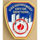 FDNY Enamel Lapel Pin Officially Licensed by the State of NY