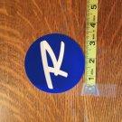 """Rossignol Blue """"R"""" Snowboard Sticker"""