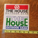 The House Snowboard Sticker
