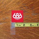 Small 686 Snowboard Stickers