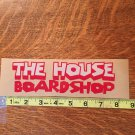 The House Snowboard Stickers