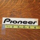 Pioneer Snowboard Sticker