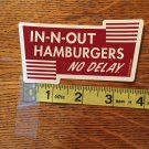In-N-Out Burger Snowboard Sticker