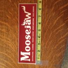 MooseJaw Snowboard Sticker