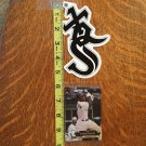 White Sox Snowboard Sticker and Playing Card