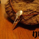 Raven Necklace - Bird Skull Necklace - Crow Necklace - Raven Skull - Bird Skull - Gothic Skull