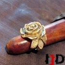 Golden Rose Ring - Flower Ring - Golden Flower Ring - Rose Jewelry