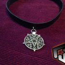 Witcher Necklace - Witcher 3 Necklace - Gothic Choker - Gothic Necklace - Pentagram Necklace