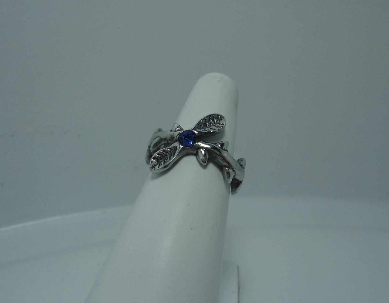 Twig Ring - Branch Ring - Silver Twig Ring - Rose Twig Ring - Thorns Ring - Silver Branch Ring