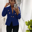 Buttons Longline Fitted Blazer