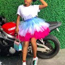 Chic Colorful Gauze Bubble Skirt For Women