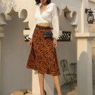 Animal Printed High Waisted Skirt
