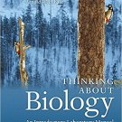 (PDF, Ebook) Thinking About Biology: An Introductory Laboratory Manual 5th Edition 978-0134033167