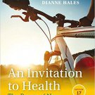( PDF, Ebook) An Invitation to Health 17th Edition by Dianne Hales 978-1305638006