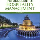 ( PDF, Ebook) Introduction to Hospitality Management 5th Edition by John R. Walker 978-0134151908