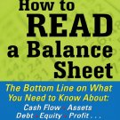 ( PDF, Ebook) How to Read a Balance Sheet by Rick Makoujy 978-0071700337