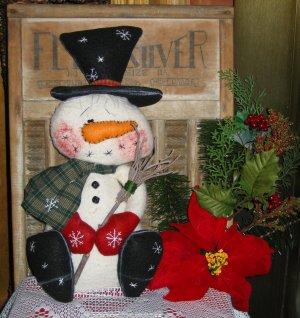 """Blizzard"" the Snowman"