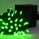 Christmas light---Solar Powered String Light 60 LED--- GREEN