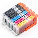 COMPATIBLE CANON INK CARTRIDGE  PGI-570XLBK  ,CLI-571XLBK/C/M/Y 5PCs/PACK