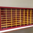 Display case cabinet for 1/64 scale cars (hot wheels, matchbox) - 72NRW-1