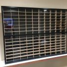 Display case cabinet for 1/64 scale cars (hot wheels, matchbox) 160NBW-1