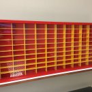 Display case cabinet for 1/64 diecast scale cars (hot wheels, matchbox) - 100NRW-1