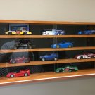 Display case cabinet shelves for diecast collectibles (cars 1/25) or others 4CWB-5