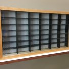 Display case cabinet for 1/64 diecast scale cars (hot wheels, matchbox) - 42NWB-1