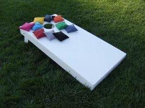 Painted Cornhole Board Combo Set