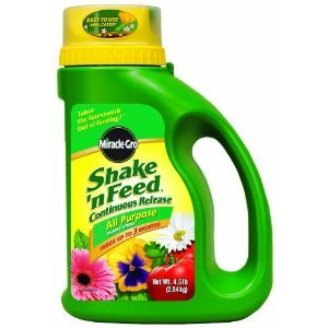 Miracle-Gro Shake'n Feed All Purpose Plant Food - 4.5 Pound
