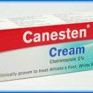 20 Grams Of CANESTEN Cream Clotrimazole Vaginal Yeast Infection Anti Fungal Ringworm