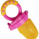 Yellow Munchkin-Baby-Easy-Grip-And-Fresh-Food-Squeezer-Nibbler Feeder +6 Months