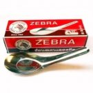 4 THAI CHINESE RICE ZEBRA BRAND SPOONS GREAT FOR SOUPS AND PUDDINGS