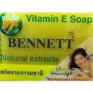 130 GRAMS OF BENNETT Vitamin E Natural Extracts Plus Curcuma Soap