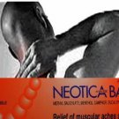 100 Neotica Balm Analgesic Cream Relief Muscular Pain Aches Cramps & Sport Injury