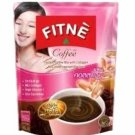 10 SACHETS OF 3 in 1 Fitne instant coffee collagen anti-aging wrinkle Slimming low sugar diet