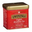 100 GRAMS OF TWINING S ENGLISH BREAKFAST TEA WITH CADDY