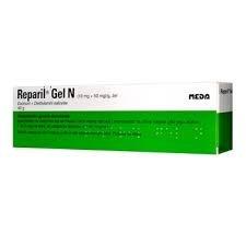 10 Grams Of Reparil gel n an anti swelling anti inflammatory and pain relieving aescin gel