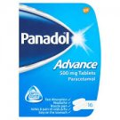 Panadol Advance Tablets 500 MG 16 TABLETS ,RELIEF FOR FLU & COLD SYMPTOMS