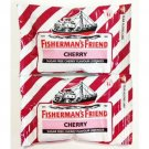 6 X 25 Grams Of Fisherman's Friend Cherry Flavour Lozenges Sugar Free Candy