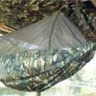 HAMMOCK AND MOSQUITO NET AND 2X3 FLY TARP IN DPM CAMO AS USED BY THE THAI ARMY