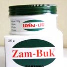 36 GRAMS OF ZAM BUK ZAMBUK OINTMENT BALM HERBAL PAIN RELIEF INSECT BITES RASHES WOUNDS