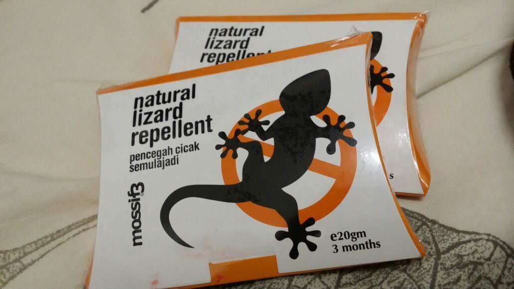 20 GRAMS OF Mossif3 Natural Eco Lizard Repellent, Toxic Free - Repel with Scent