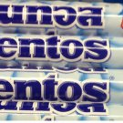 3 TUBES OF 37 GRAM OF MENTOS ROLLS CHEWY DRAGEE IN MINT