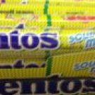 6 TUBES OF 37 GRAM OF MENTOS ROLLS CHEWY DRAGEE IN SOUR MIX