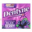 6 X 18 Grams Of Dentyne  Chewing Gum 18 g. (6 Pieces)  In Blueberry