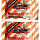 12  Packets Of Fisherman's Friend Spicy Mandarin Flavour Lozenges Sugar Free Candy
