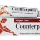 100 GRAMS OF COUNTERPAIN ANALGESIC WARM BALM RELIEVES MUSCULAR ACHES & PAIN