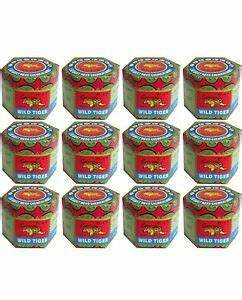30g x 12 TIGER BALM Red Pain Relief Ointment Muscular Aches Pain