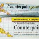 12 x 50 Grams Of Counter pain Plus Analgesic Relieve Osteoarthritis Arthritis